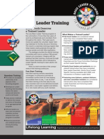New Leader Training