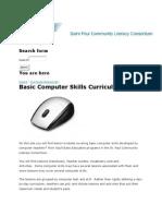 Computer Curriculum