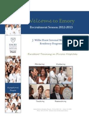 Emory IM | Residency (Medicine) | Clinic
