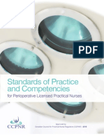 CCPNR Standards of Practice and Competencies-PerioperativeLPNS English