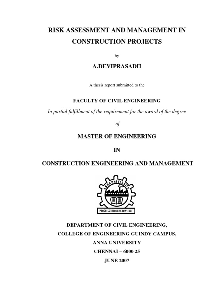 Masters thesis dedication
