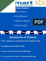 Introduction of Walmart