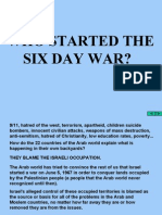 6 day war-news coverage