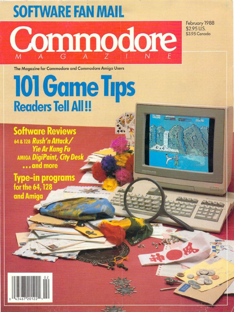 Modore Magazine Vol 09 N02 1988 Feb