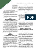 Decreto-Lei 239 2012