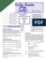 Summer Activity Guide 2009