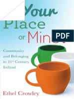 Extract from Your Place or Mine? Community and Belonging in 21st Century Ireland