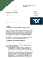Kamerbrief Invulling Subsidietaakstelling Onderwijs en Onderzoek
