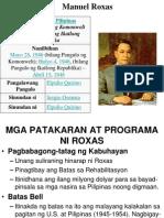 Talambuhay ni datování pangulong elpidio quirino