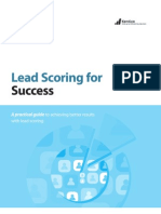 Lead Scoring for Success