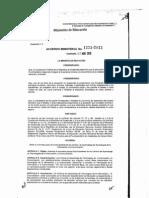 Acuerdo Ministerial 1223-2013