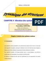 Dyn Struct C04 Vibration Des Systemes Continu