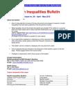 Health Inequalities Bulletin no. 38 April- May 2013