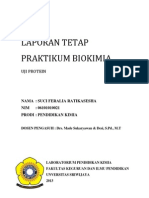 Laporan Tetap 2 Uji Protein