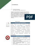 Unidade 1 - Teoria da Administração - Web aula 1
