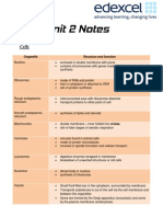 Unit 1  Revision notes in accordance with syllabus specifications