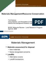 5 - Materials Mgt_Resource Conservation - Erickson