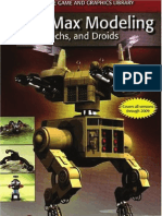 Jon Weimer, 3ds Max Modeling Bots, Mechs, And Droids