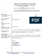 National Conference Letter