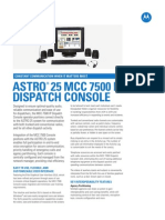 MCC 7500 IP Dispatch Console Specification Sheet R3!13!2013C