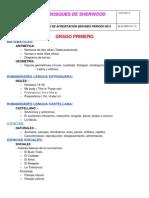 TEMATICAS PRUEBAS DE ACREDITACIÓN SEGUNDO PERIODO 2013