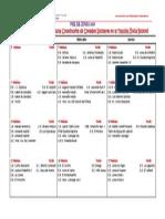 Cronograma Consejos Escolares