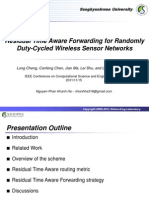 Slide_Residual Time Aware Forwarding for Randomly Duty-Cycled WSN