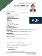CV Carlos Antonio Soto Paredes