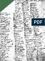 Рукописна збирка турцизама из 18. века