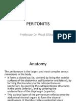 Peritonitis Dr. Efman