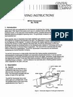 Gyroscope Manual