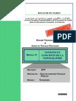 Module 10 Notions Et Concepts de La Topographie-BTP-TCCTP