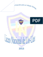 Protocolo en Casos de Abuso Sexual Ln 2013-2014
