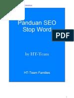 E-Book Panduan SEO Stop Word