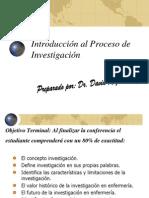 Introducción al Proceso de Investigación