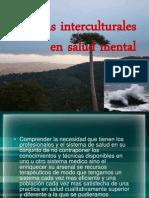 Practicas Interculturales en Salud Mental