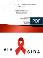 MASCULINIDADES - Infecciones de transmisión sexual VIH y SIDA