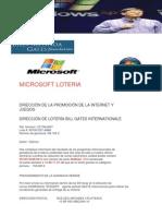 Microsoft Lotery