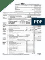 Mayor Rahm Emanuel's 2012 tax returns