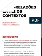 Inter-Relações entre contextos (1)