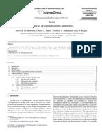 12- Cefotaxime26 -(REVIEW) Analysis of Cephalosporin Antibiotics
