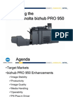 Bizhub PRO 950 Launch Presentation v2