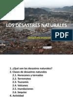7.- Desastres Naturales - desastres meteorológicos