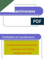 Assertive Behaviour Detailed