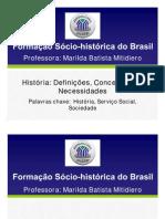 Cead 20131 Servico Social Pa - Servico Social - Formacao Socio-historica e Economica Brasileira - Adi (Dmi672) Slides Unidade+Didatica+i 1+-+Slides Sso8 Formacao Socio-historica Do Brasil Teleaula 1 Tema 1