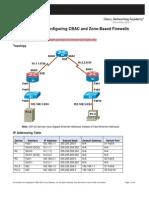 Ccnasv1.1 Chp04 Lab-A Cbac-zbf Instructor