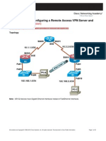 CCNASv1.1 Chp08 Lab B Rmt Acc VPN Instructor