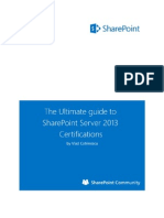 The Ultimate Guide to SharePoint Server 2013 Certifications