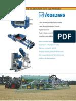 Folheto Linha Agrícola e Bio-Gás