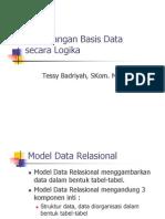 Perancangan Basis Data Secara Logika